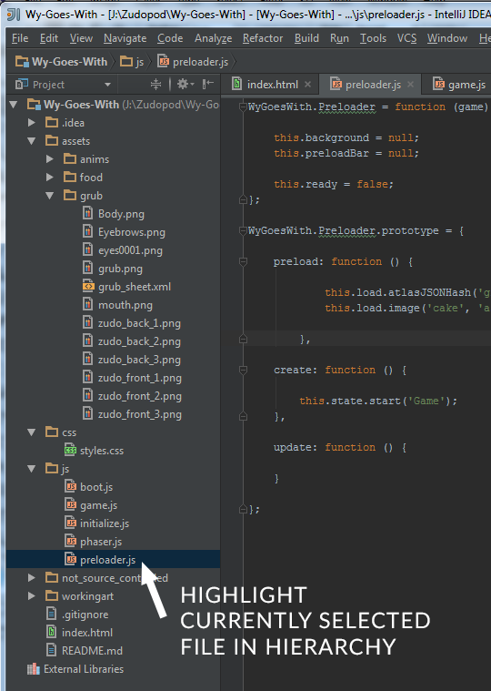 highlight_file_in_hierarchy