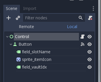 disabling a button in Godot – Today I Learned… in Code