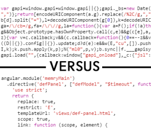 Which would you rather debug?